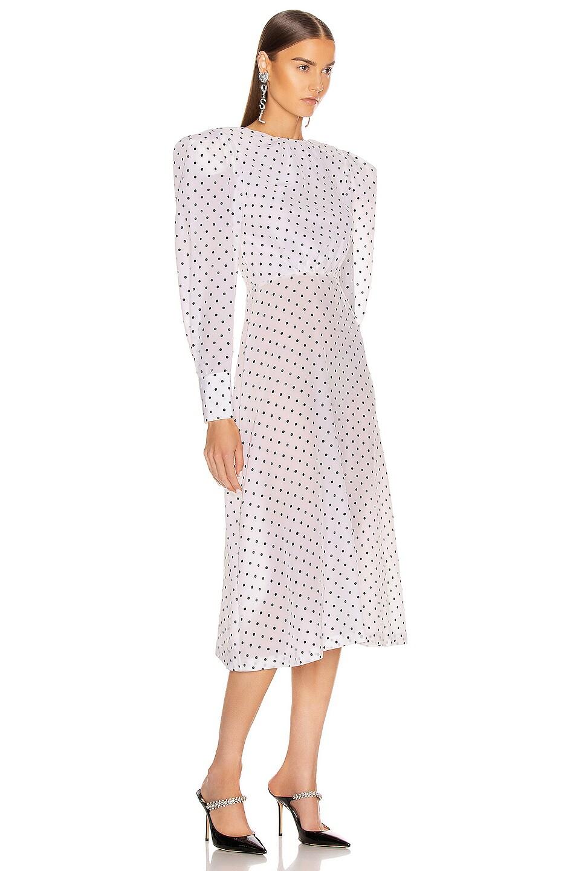 Image 2 of Daniele Carlotta Midi Dress in Polka Dots