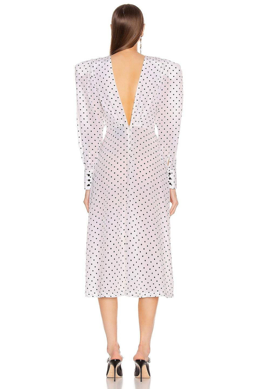 Image 3 of Daniele Carlotta Midi Dress in Polka Dots