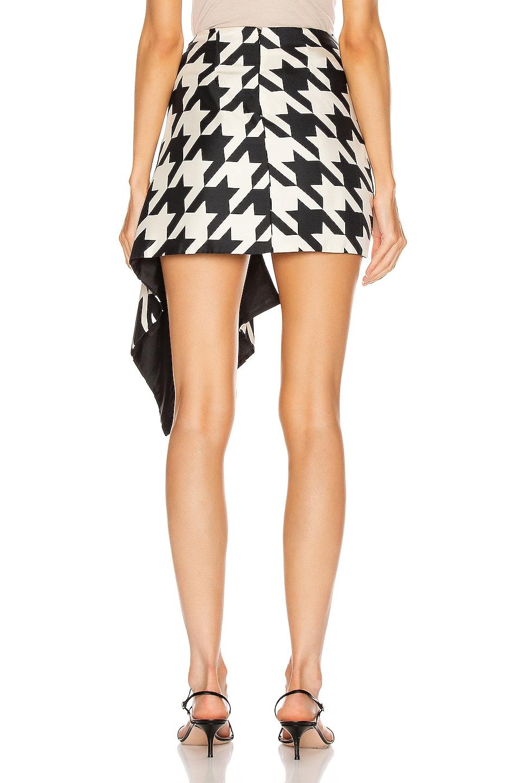 Image 4 of Daniele Carlotta Asymmetric Skirt in Black & White