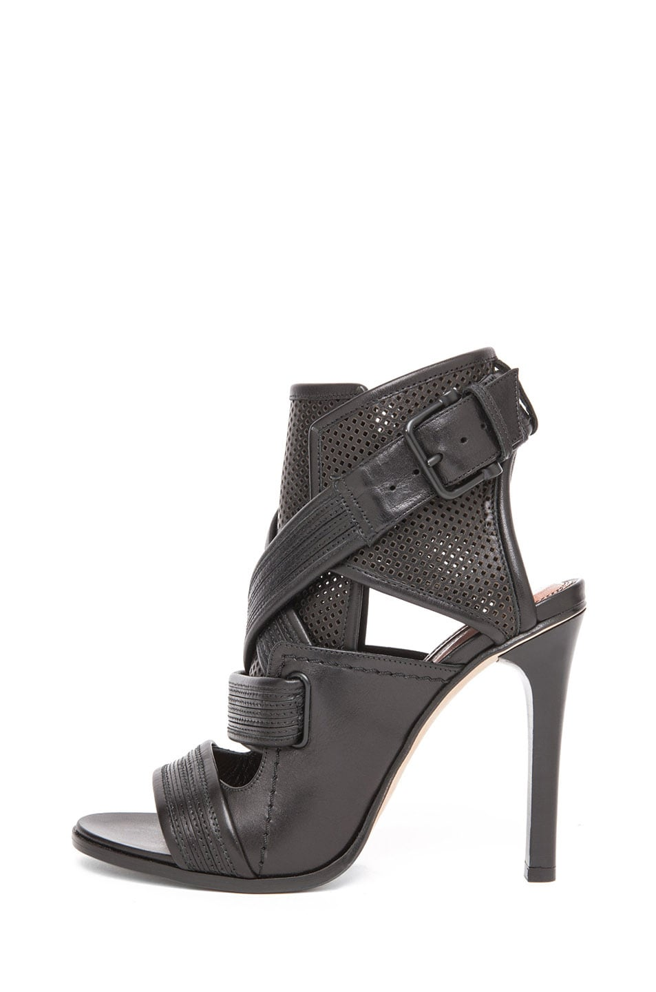 23a026c113be23 Image 1 of Derek Lam Beau Sandal Heel in Black