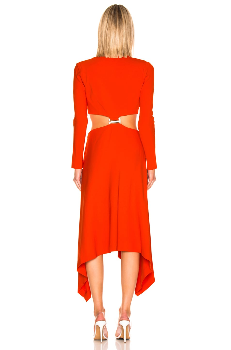 Image 3 of Dion Lee Modular Dress in Vermillion