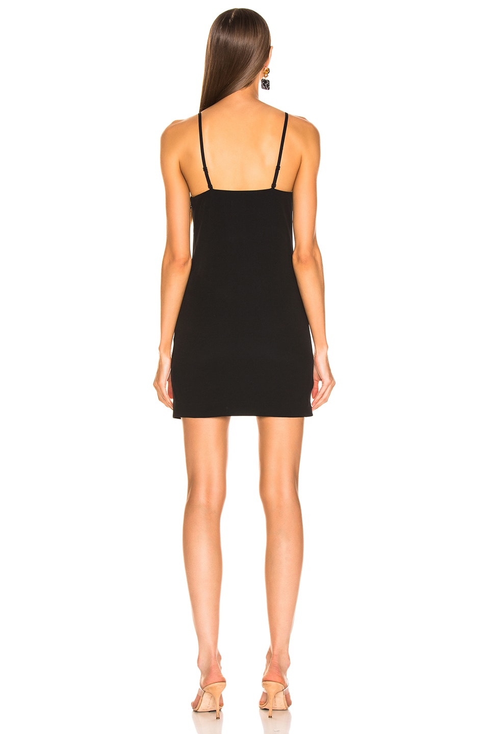 Image 3 of Dion Lee Stencil Lace Mini Dress in Black
