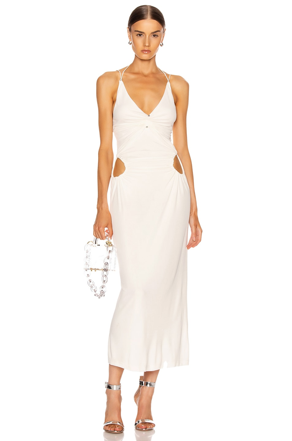 Image 1 of Dion Lee Pierced Dress in Ivory