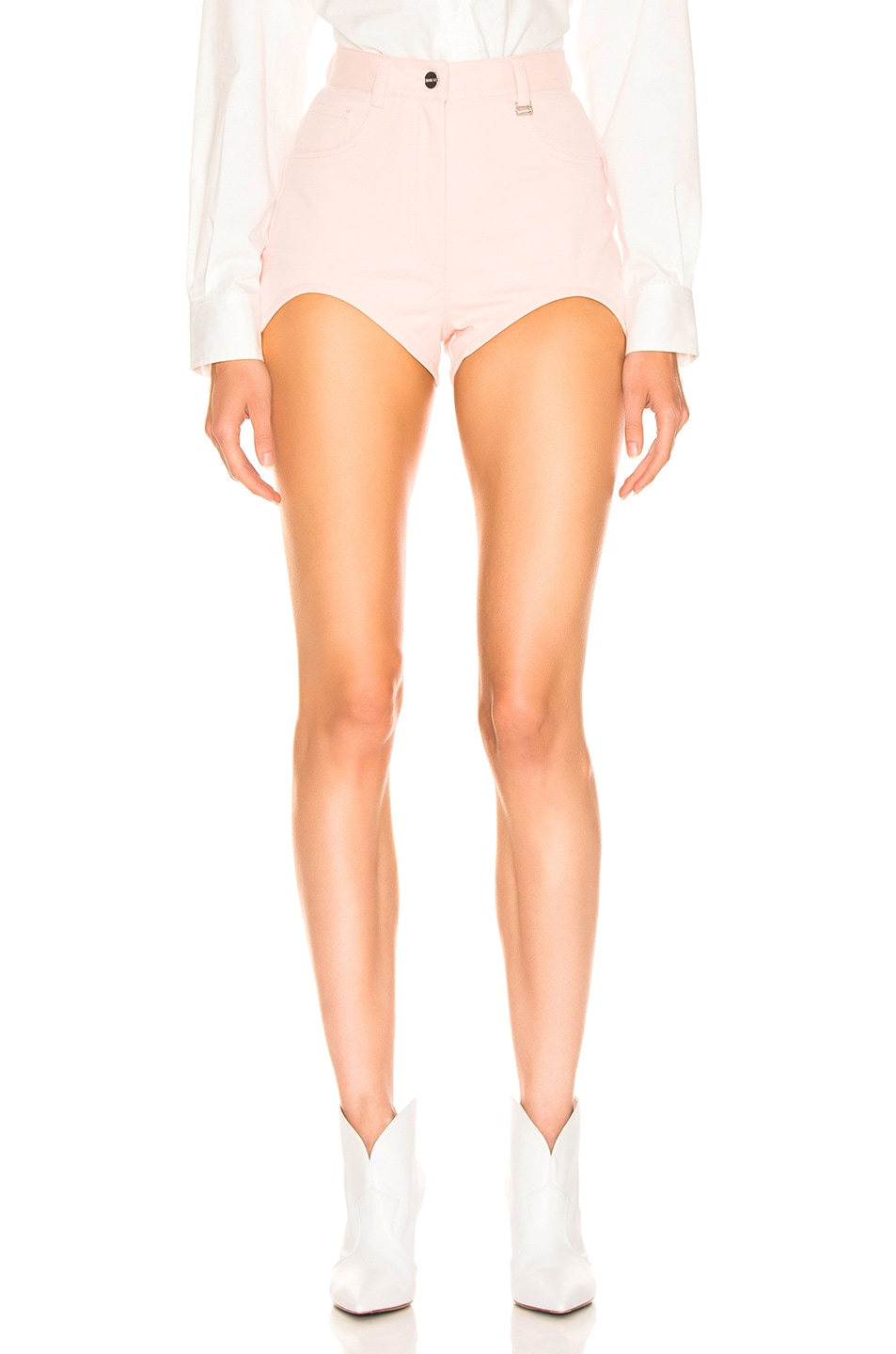 Image 1 of Dion Lee Bike Short in Frost Pink