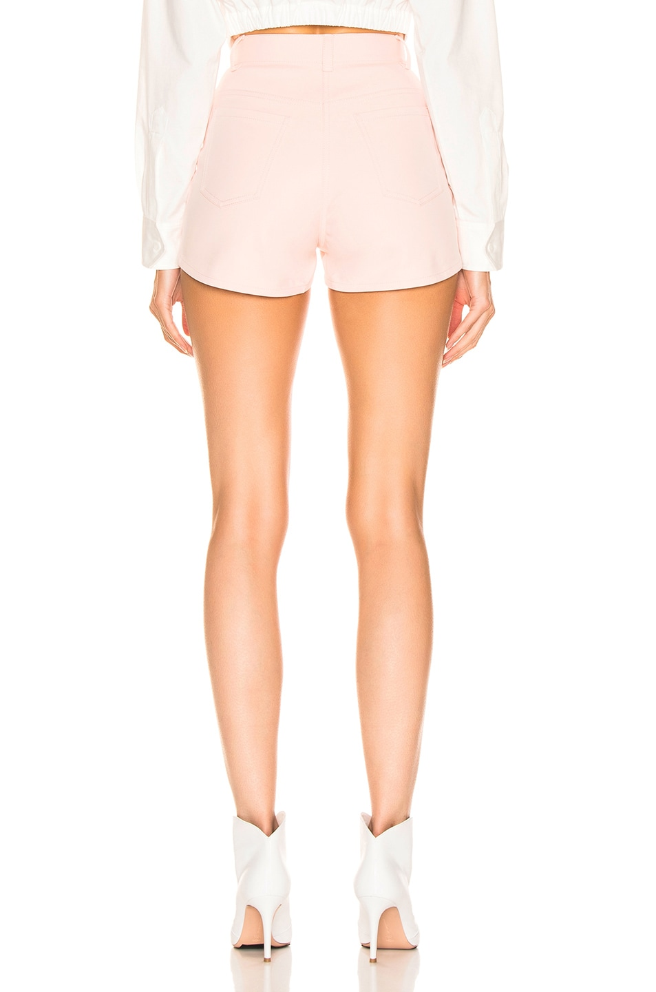 Image 3 of Dion Lee Bike Short in Frost Pink