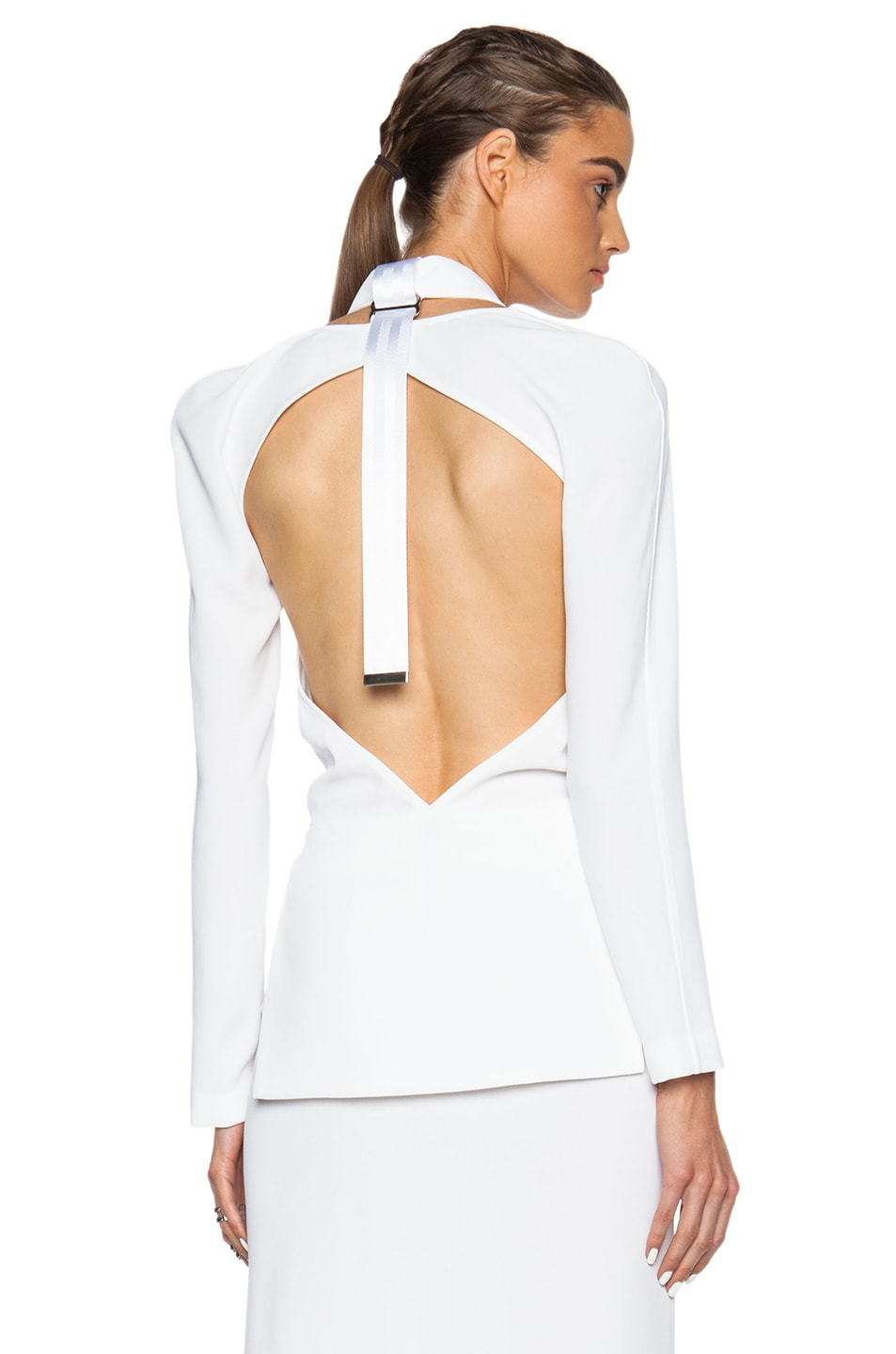 Image 1 of Dion Lee Safety Top in White