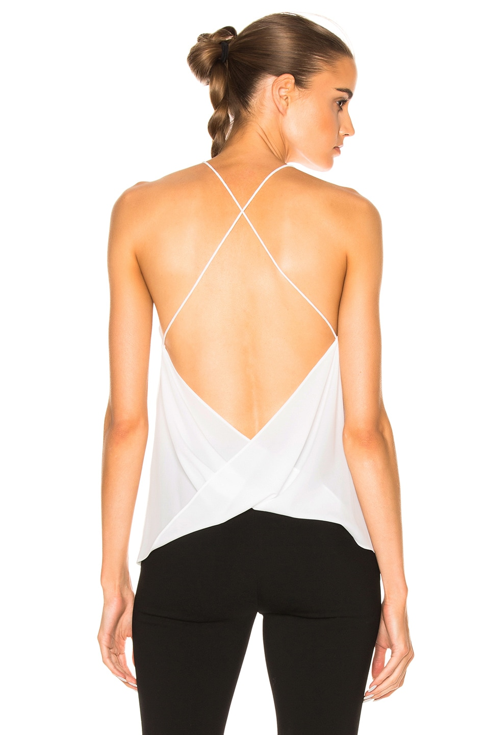 Image 1 of Dion Lee Whitewash Fine Line Top in Ivory