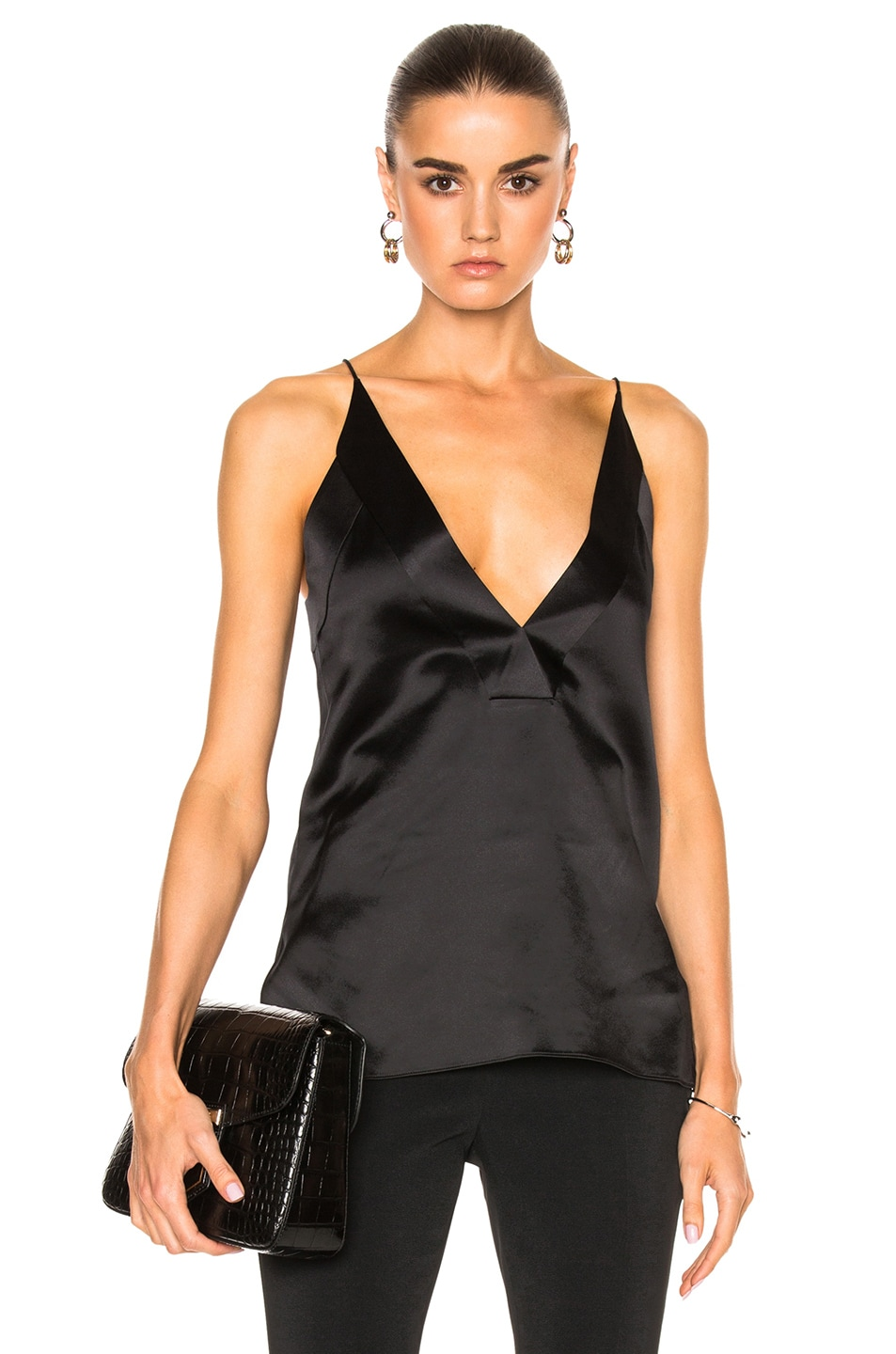 Image 1 of Dion Lee for FWRD Contour Cami Top in Black