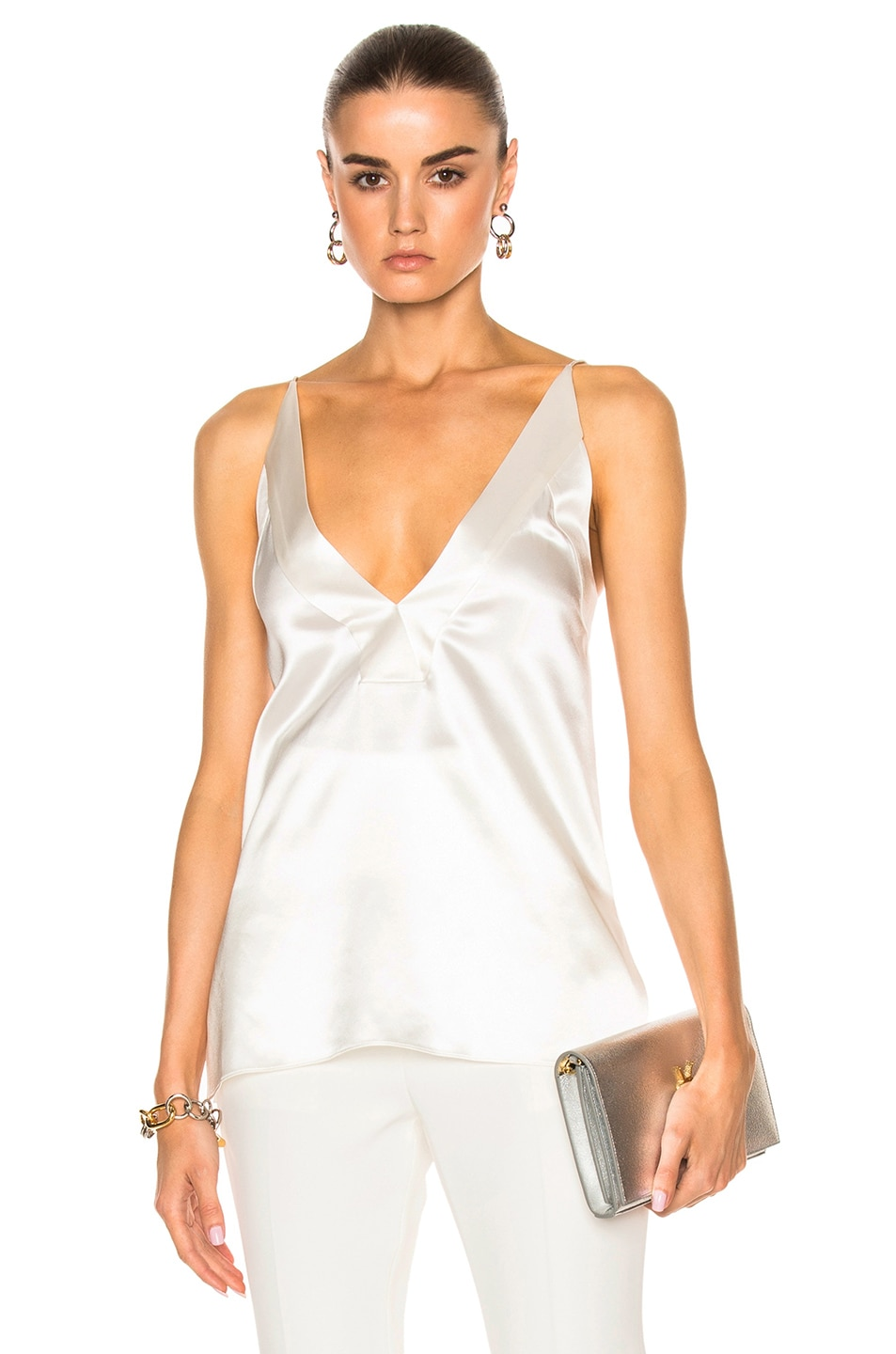 Image 1 of Dion Lee Contour Cami Top in Ivory