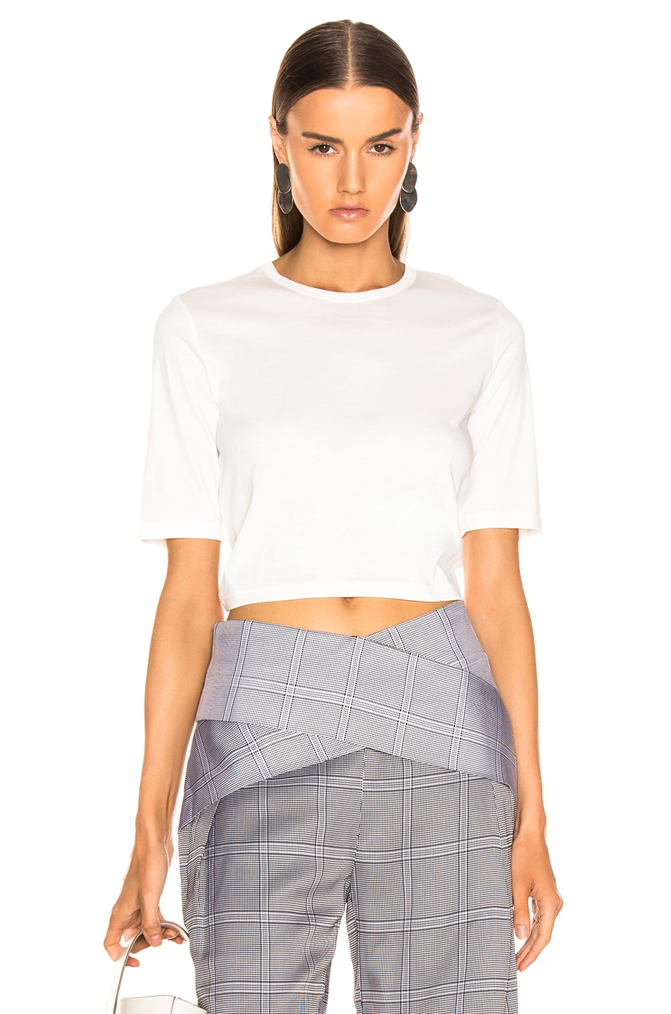 Image 2 of Dion Lee Twist Back Tee in White