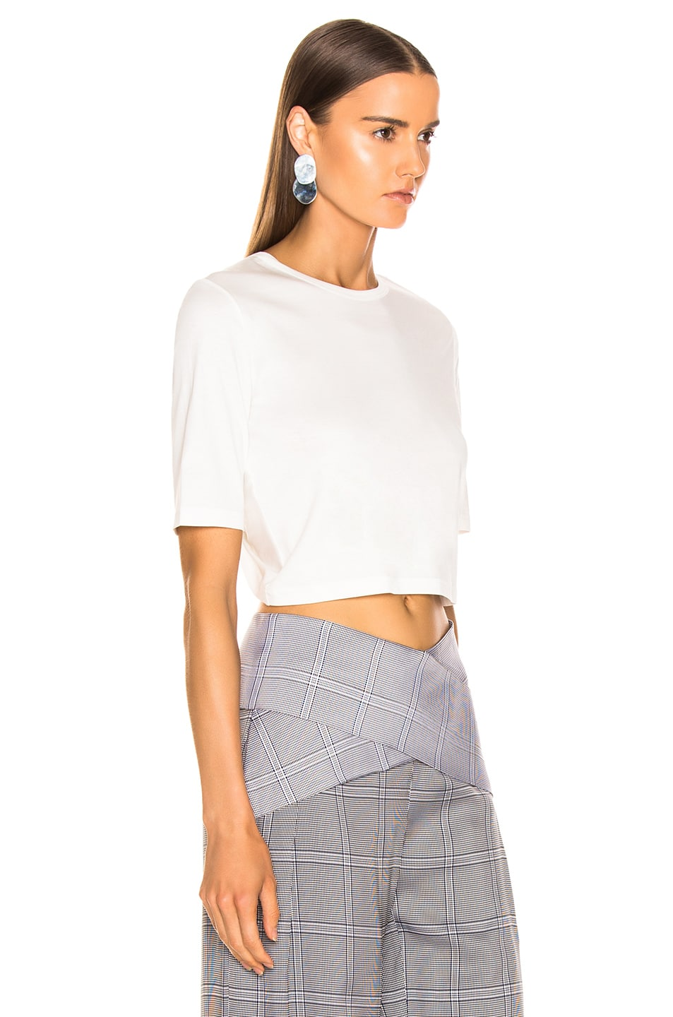 Image 3 of Dion Lee Twist Back Tee in White