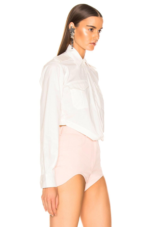 Image 2 of Dion Lee Loop Shirt in Ivory