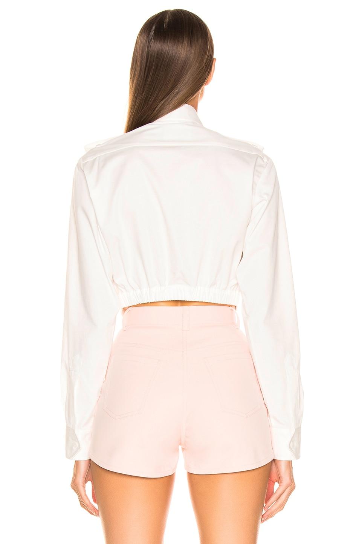 Image 3 of Dion Lee Loop Shirt in Ivory