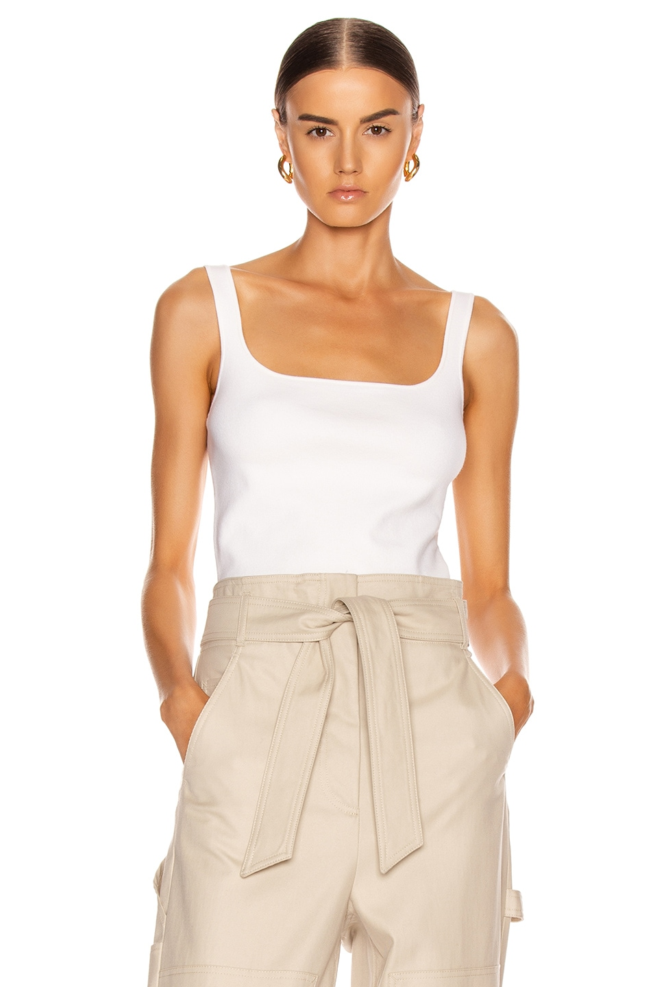 Image 2 of Dion Lee Stirrup Top in Ivory
