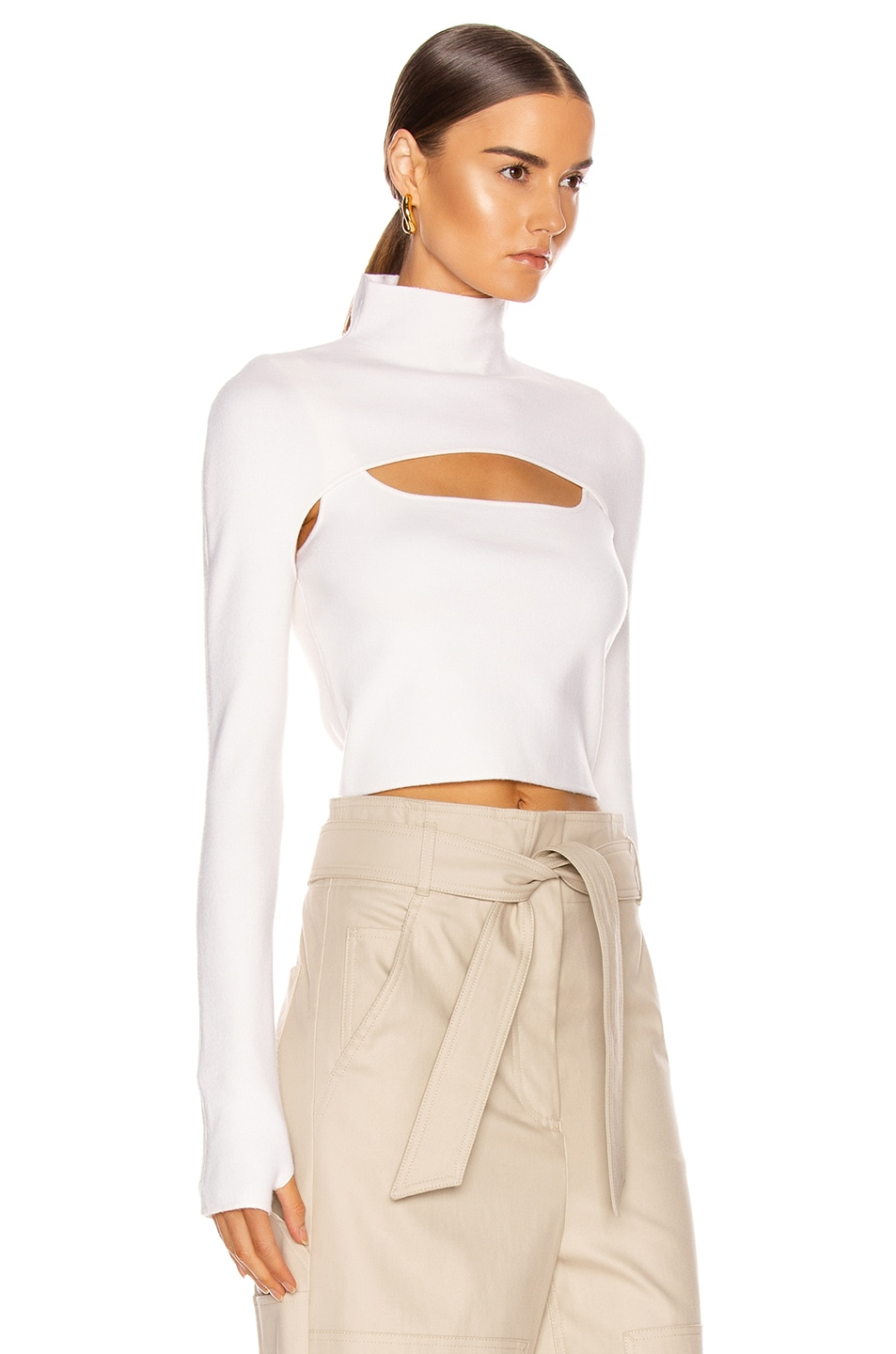Image 3 of Dion Lee Stirrup Top in Ivory