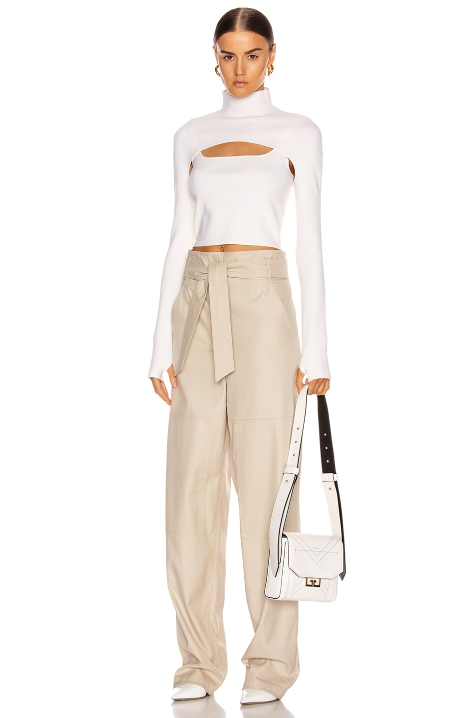 Image 5 of Dion Lee Stirrup Top in Ivory