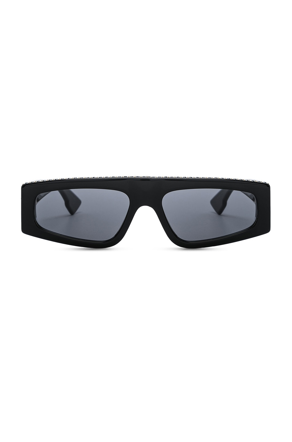 Image 1 of Dior Power Sunglasses in Black Crystal & Gray