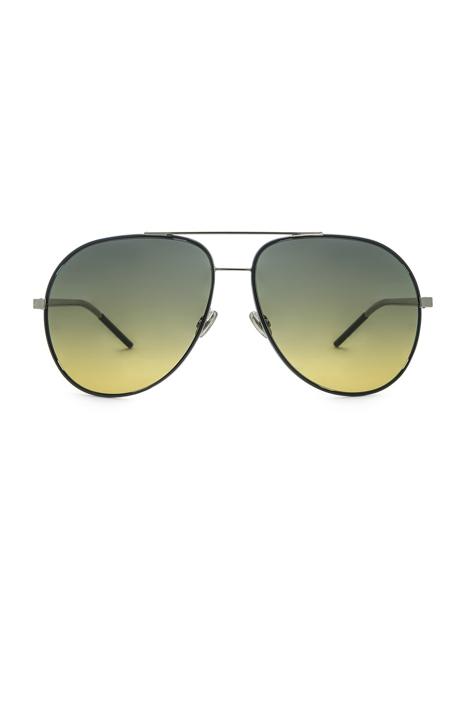 9528b31bce Image 1 of Dior Astral Sunglasses in Blue Ruth   Green Yellow