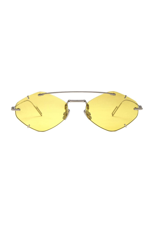 Image 1 of Dior Inclusion Sunglasses in Palladium & Gold