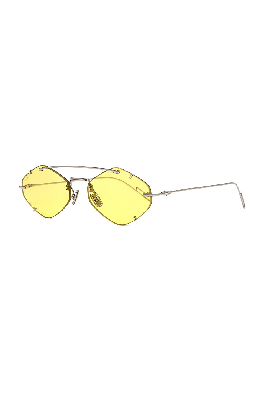 Image 2 of Dior Inclusion Sunglasses in Palladium & Gold