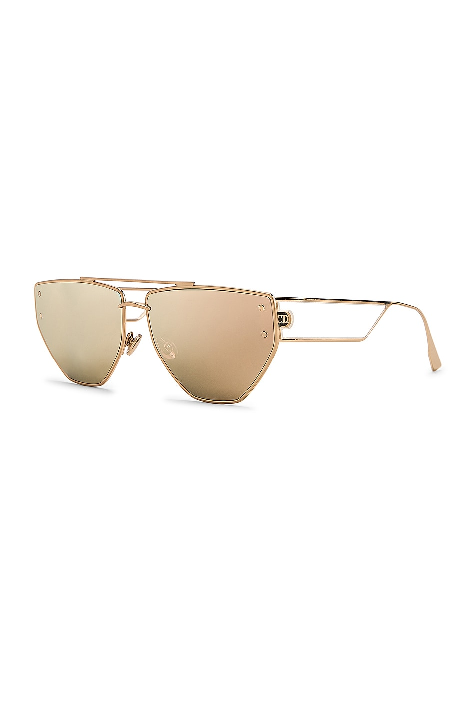 Image 2 of Dior Clan 2 Sunglasses in Rose Gold