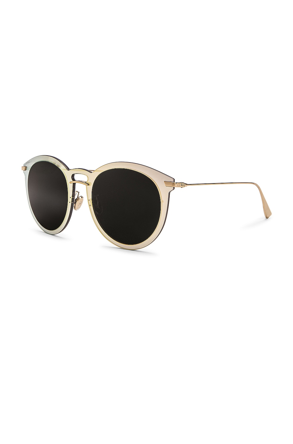 Image 2 of Dior Ultime F Sunglasses in Gold Blue