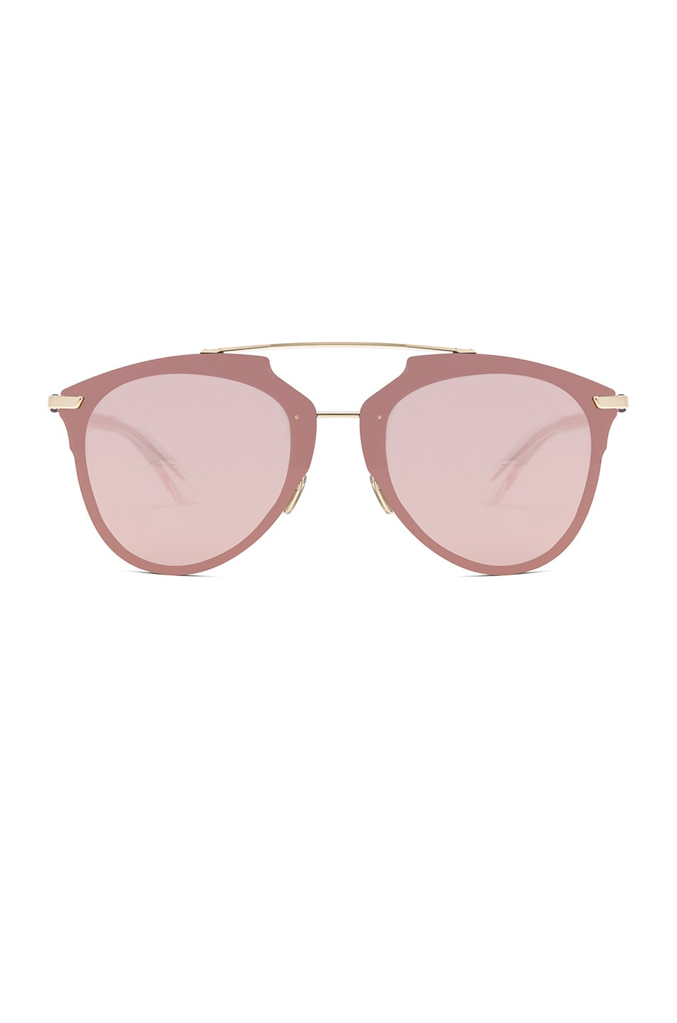 DIOR REFLECTED SUNGLASSES IN METALLICS