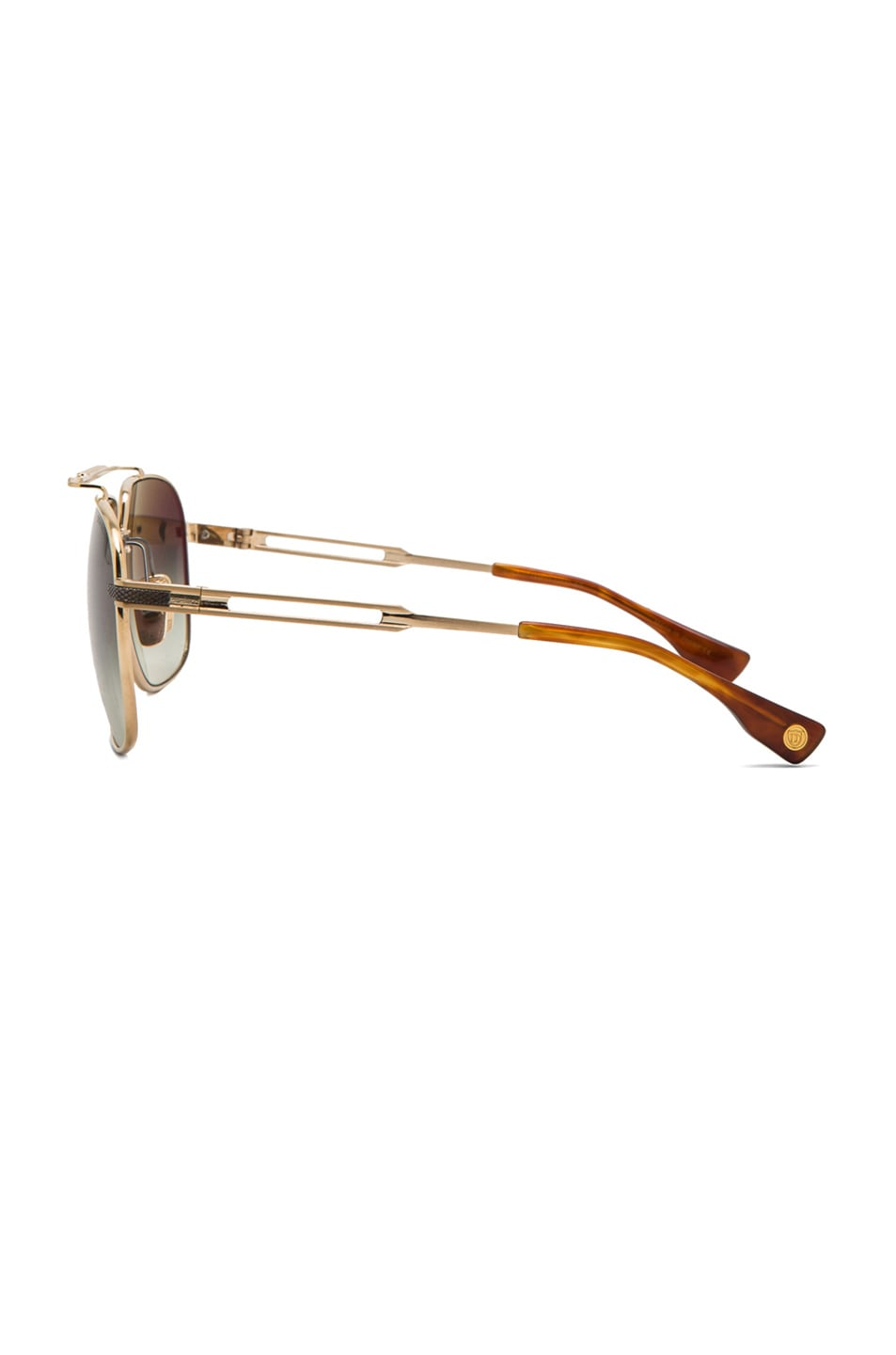 18db2a434063 Image 3 of Dita Victoire in Brushed 14K Gold