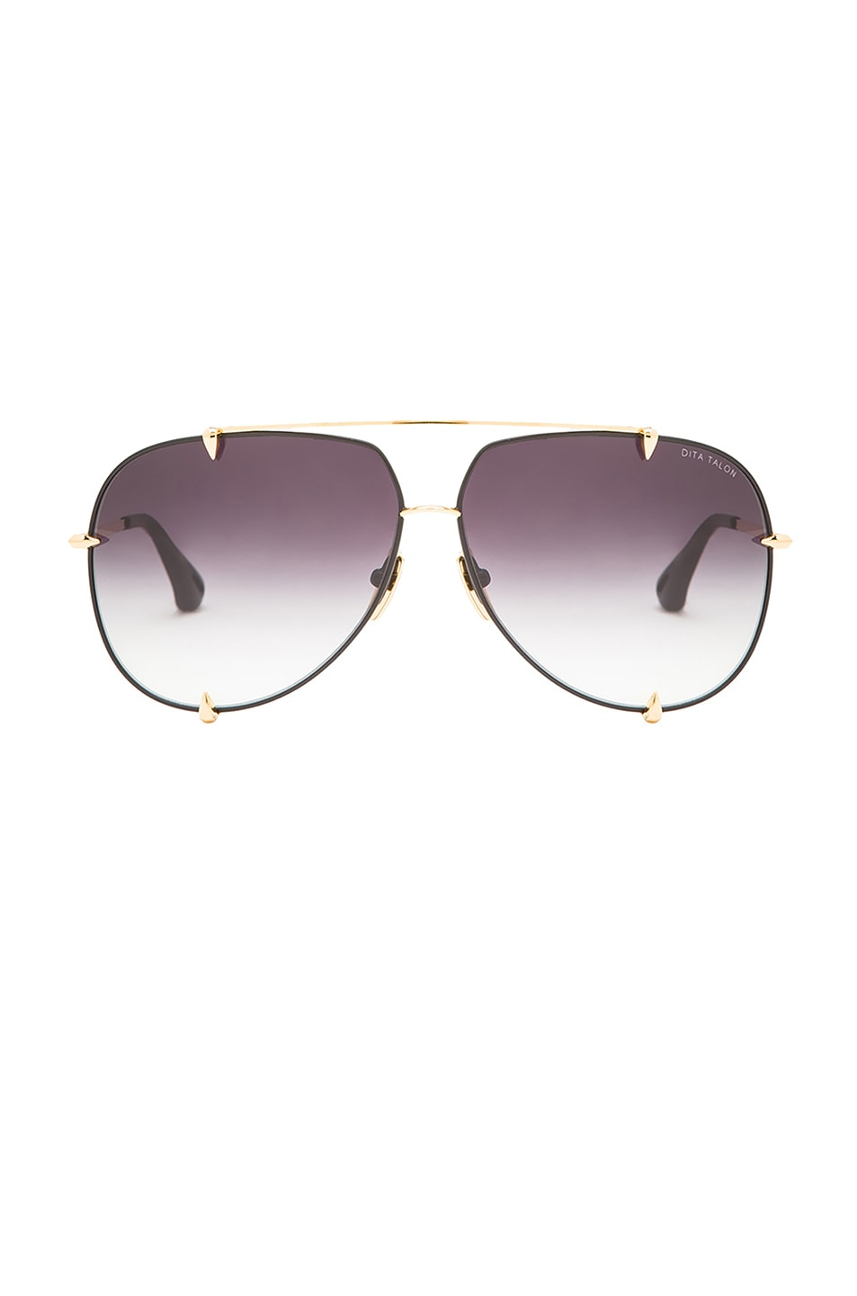 Image 1 of Dita Talon Sunglasses in Black & Gold