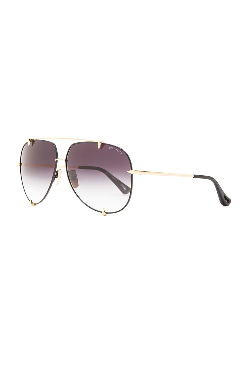 Image 2 of Dita Talon Sunglasses in Black & Gold