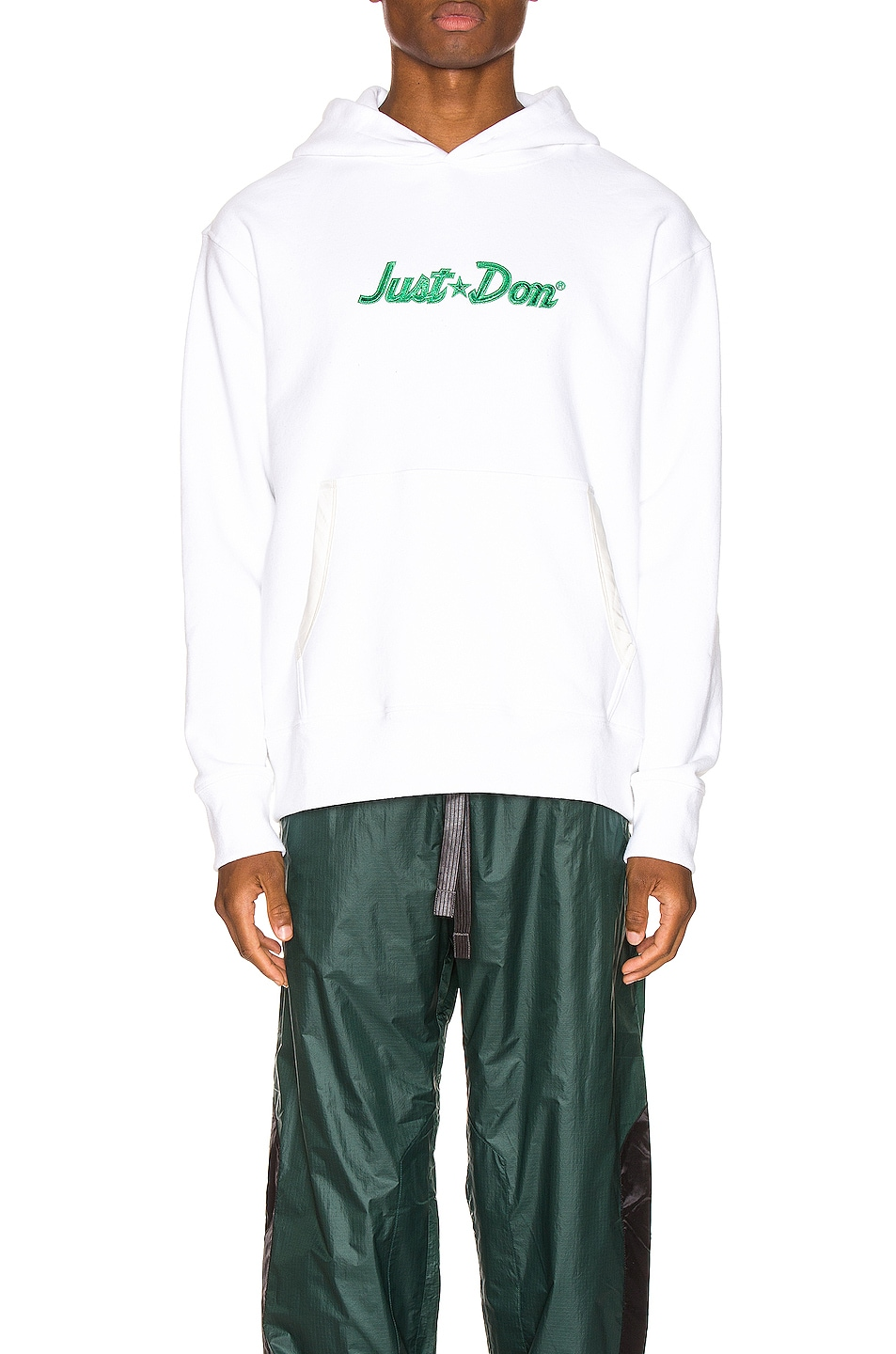 Image 1 of Just Don Logo Hoodie in White