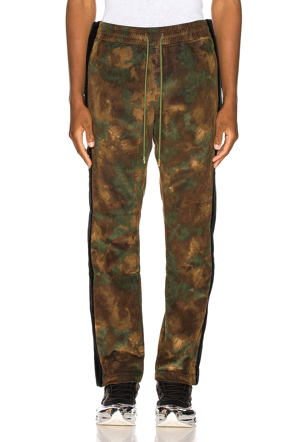 Image 2 of Just Don Camo Corduroy Tearaway Pant in Camo
