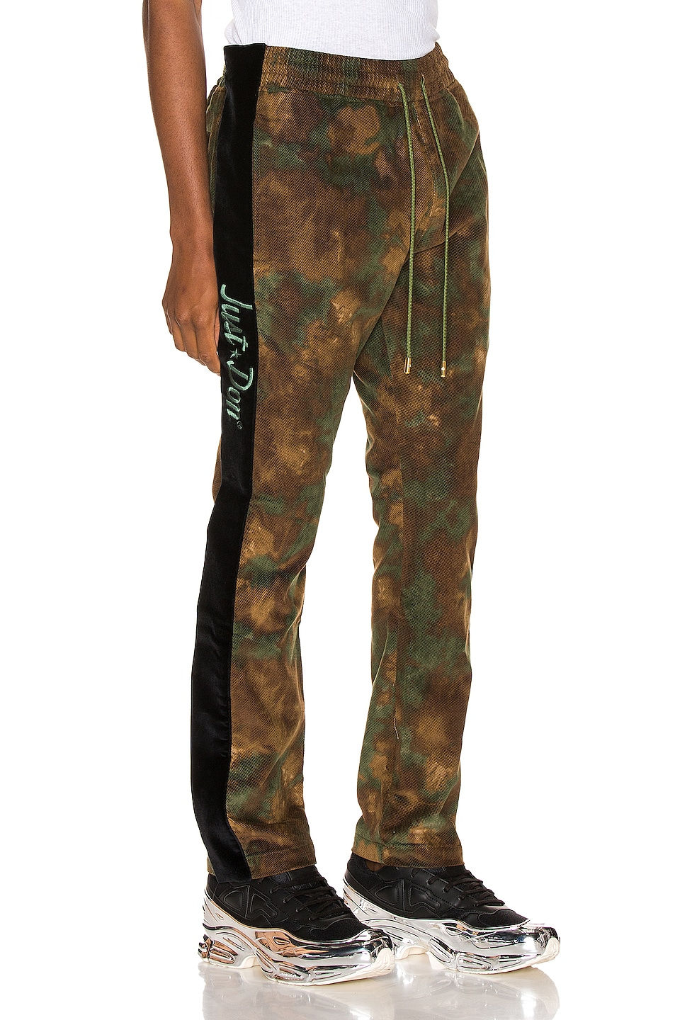 Image 3 of Just Don Camo Corduroy Tearaway Pant in Camo