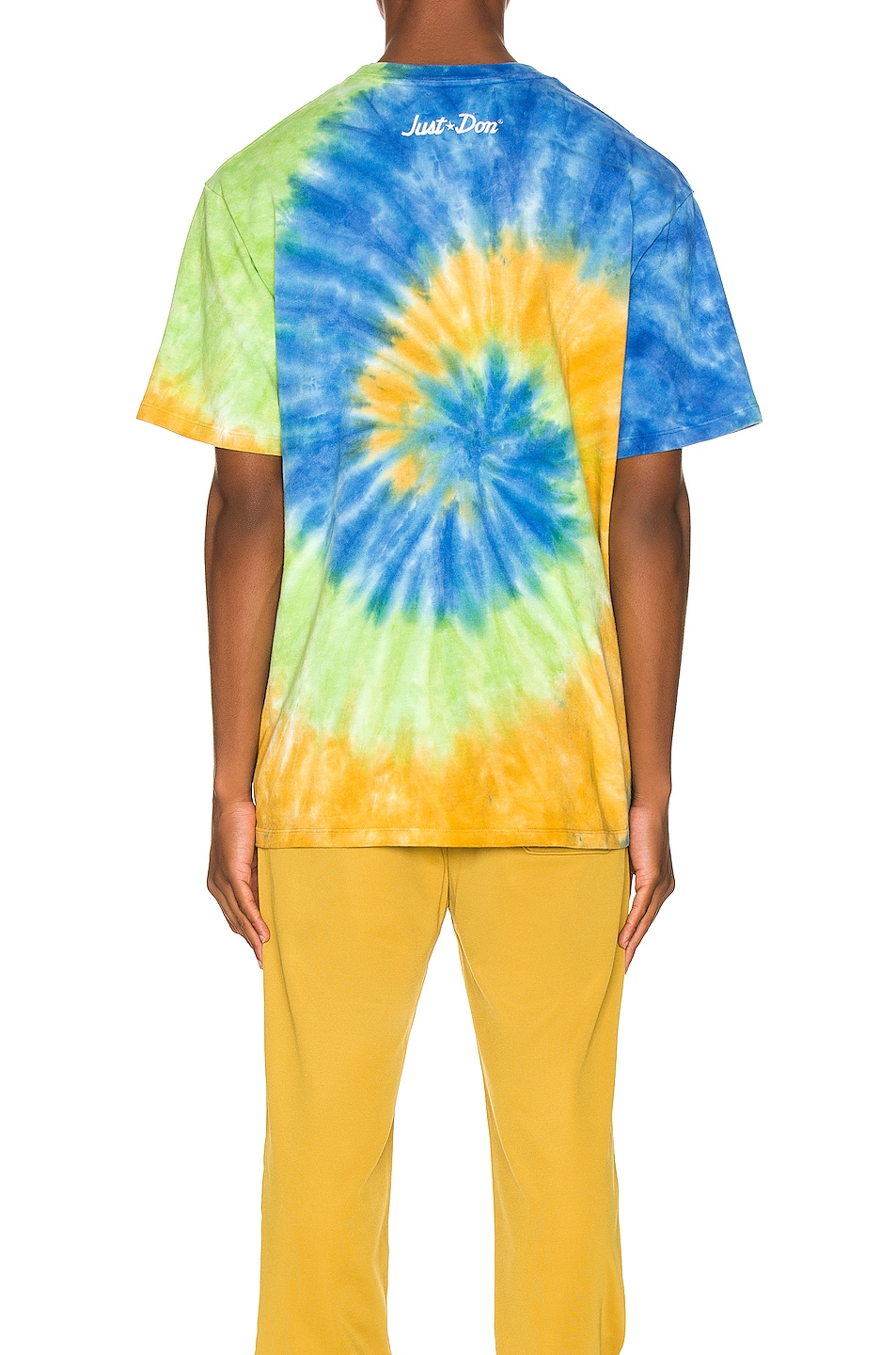 Image 4 of Just Don Lion Basketball Tee in Tie Dye