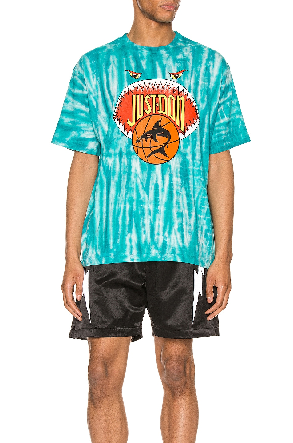 Image 1 of Just Don JD Basketball Tee in Blue