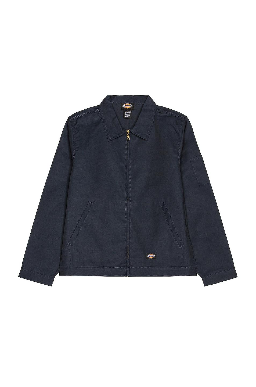 Image 1 of Dickies Unlined Eisenhower Jacket in Dark Navy