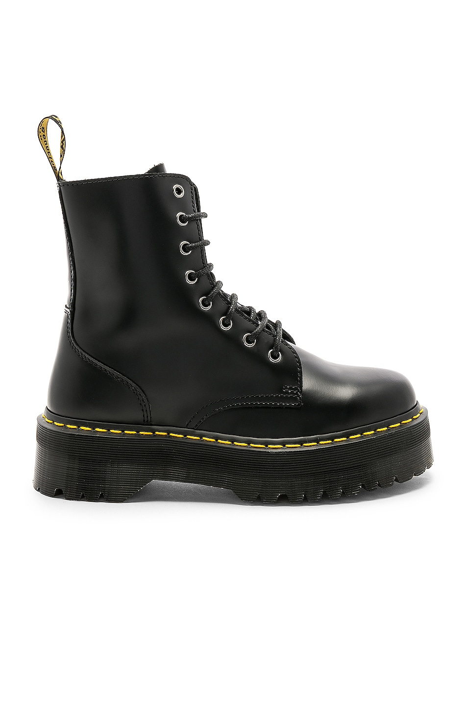 Image 1 of Dr. Martens Jadon Fusion Smooth Boot in Black