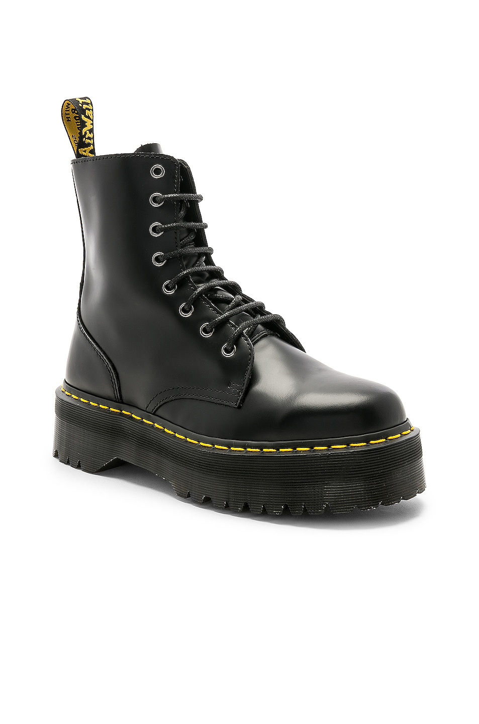 Image 2 of Dr. Martens Jadon Fusion Smooth Boot in Black