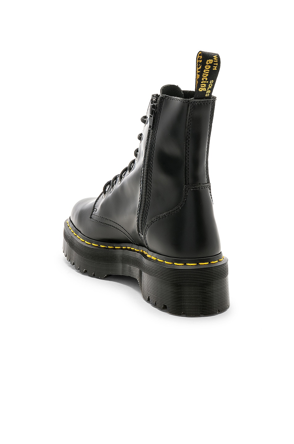 Image 3 of Dr. Martens Jadon Fusion Smooth Boot in Black