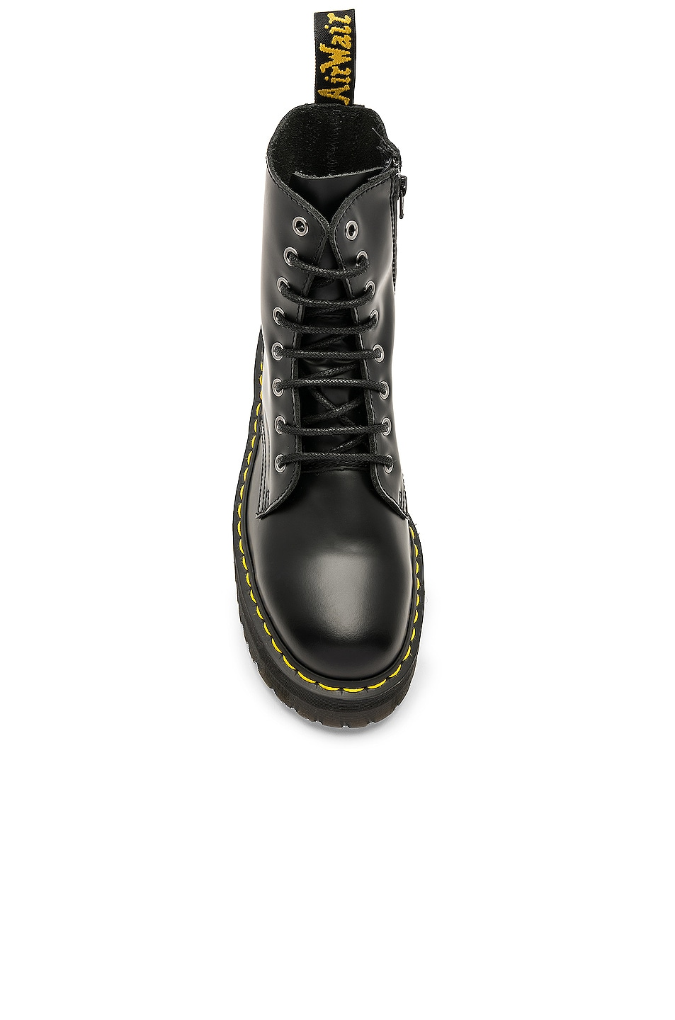 Image 4 of Dr. Martens Jadon Fusion Smooth Boot in Black