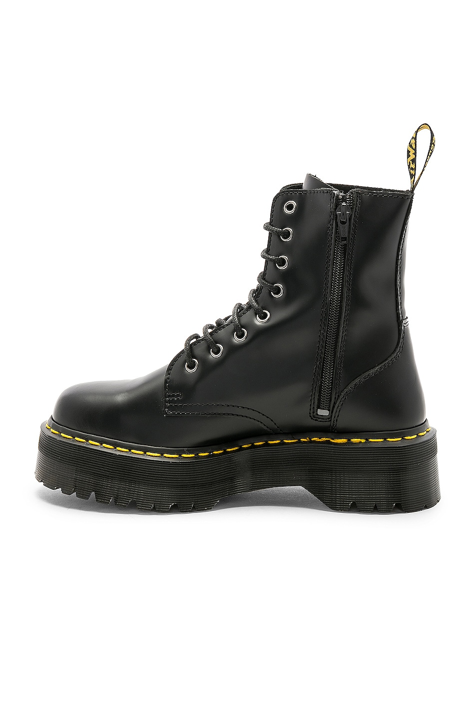 Image 5 of Dr. Martens Jadon Fusion Smooth Boot in Black