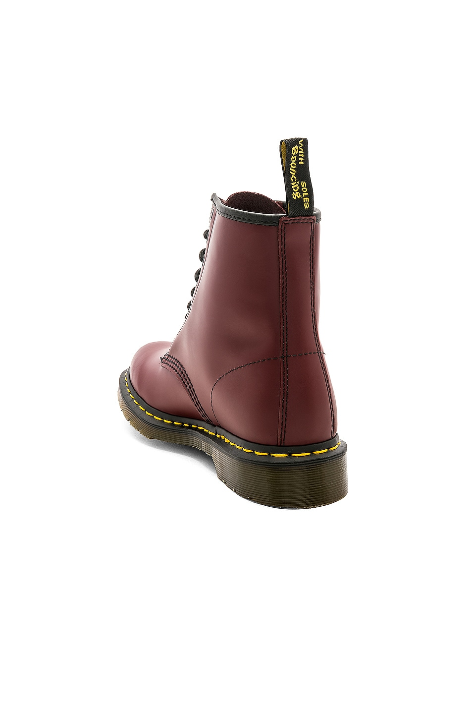 Image 3 of Dr. Martens 1460 8 Eye Boot in Cherry Red