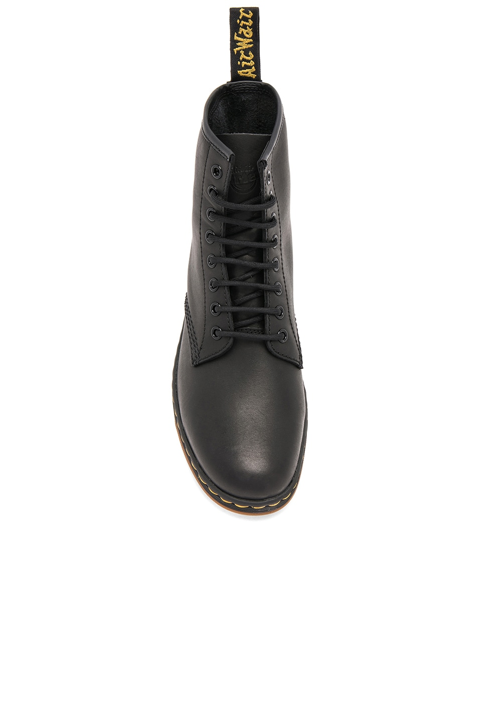Image 4 of Dr. Martens Newton 8 Eye Leather Boots in Black