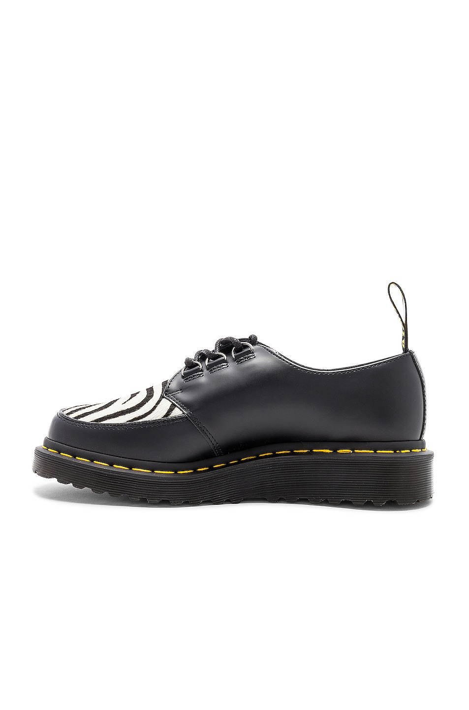 Dr. Martens Ramsey Zeb with Faux Fur Zebra Panel in ,Animal Print.