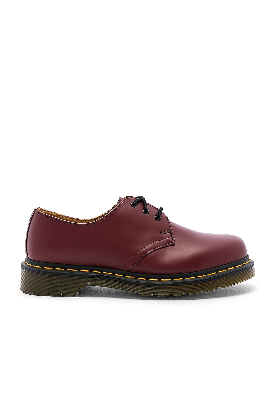 Image 1 of Dr. Martens 1461 3-Eye Shoe in Cherry Red