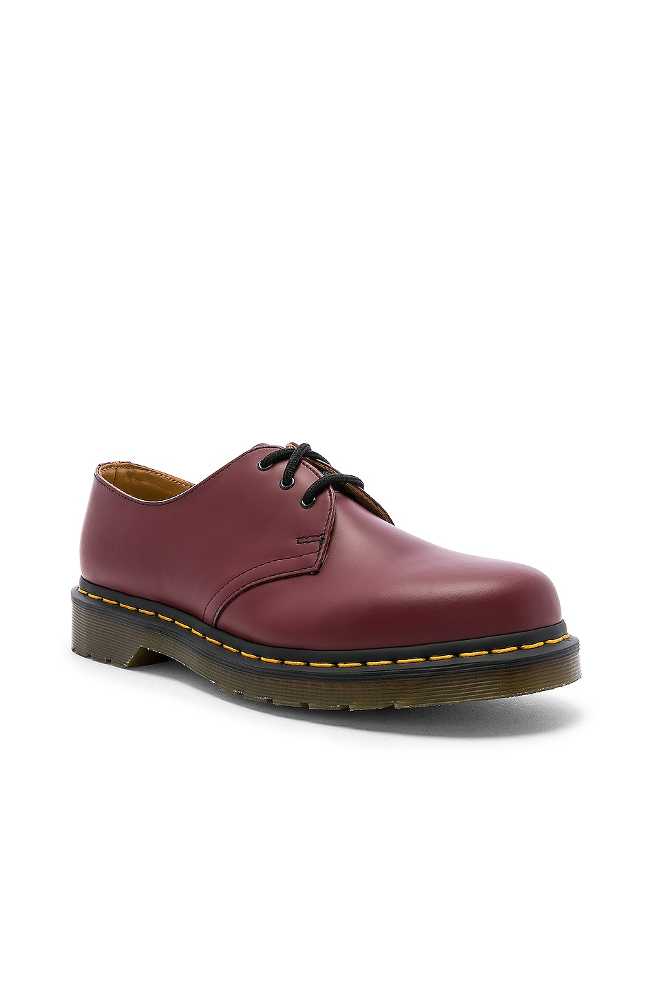 Image 2 of Dr. Martens 1461 3-Eye Shoe in Cherry Red