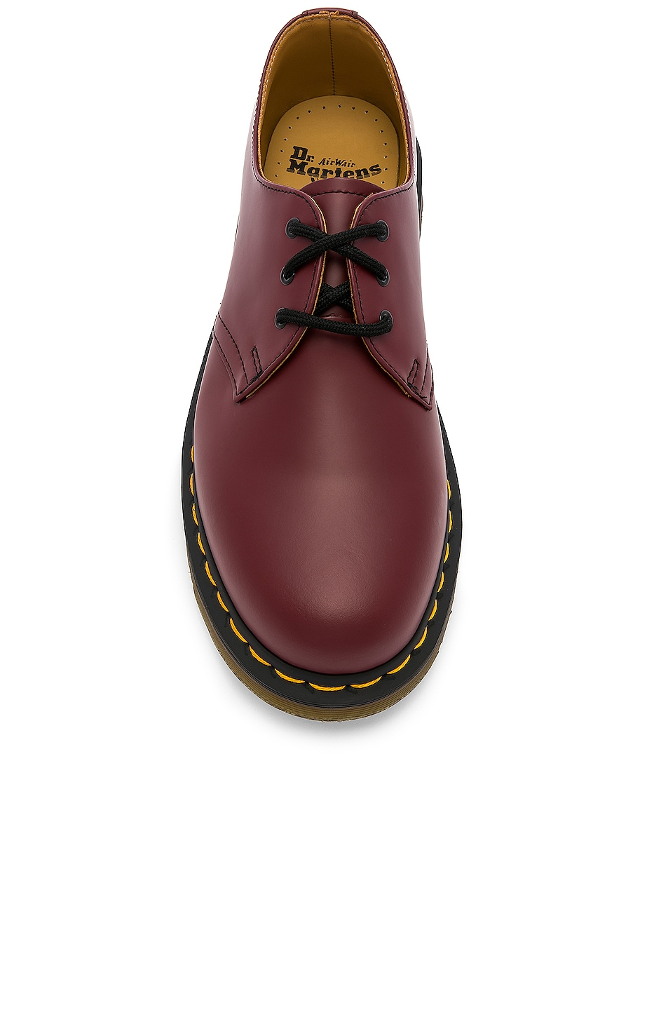 Image 4 of Dr. Martens 1461 3-Eye Shoe in Cherry Red