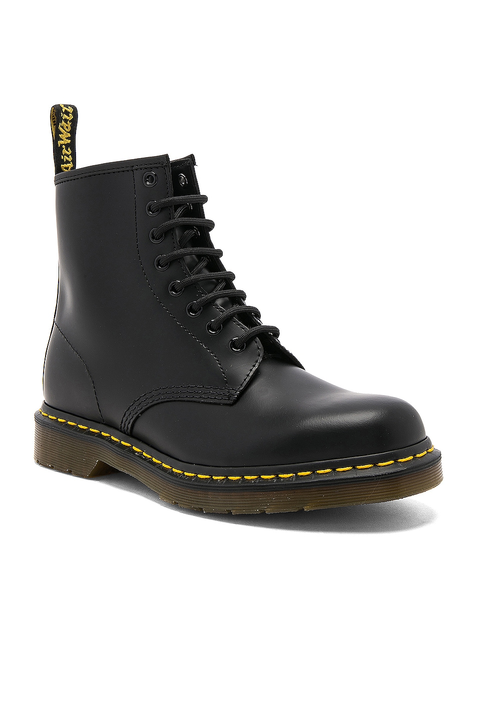 Image 2 of Dr. Martens 1460 8 Eye Leather Boots in Black