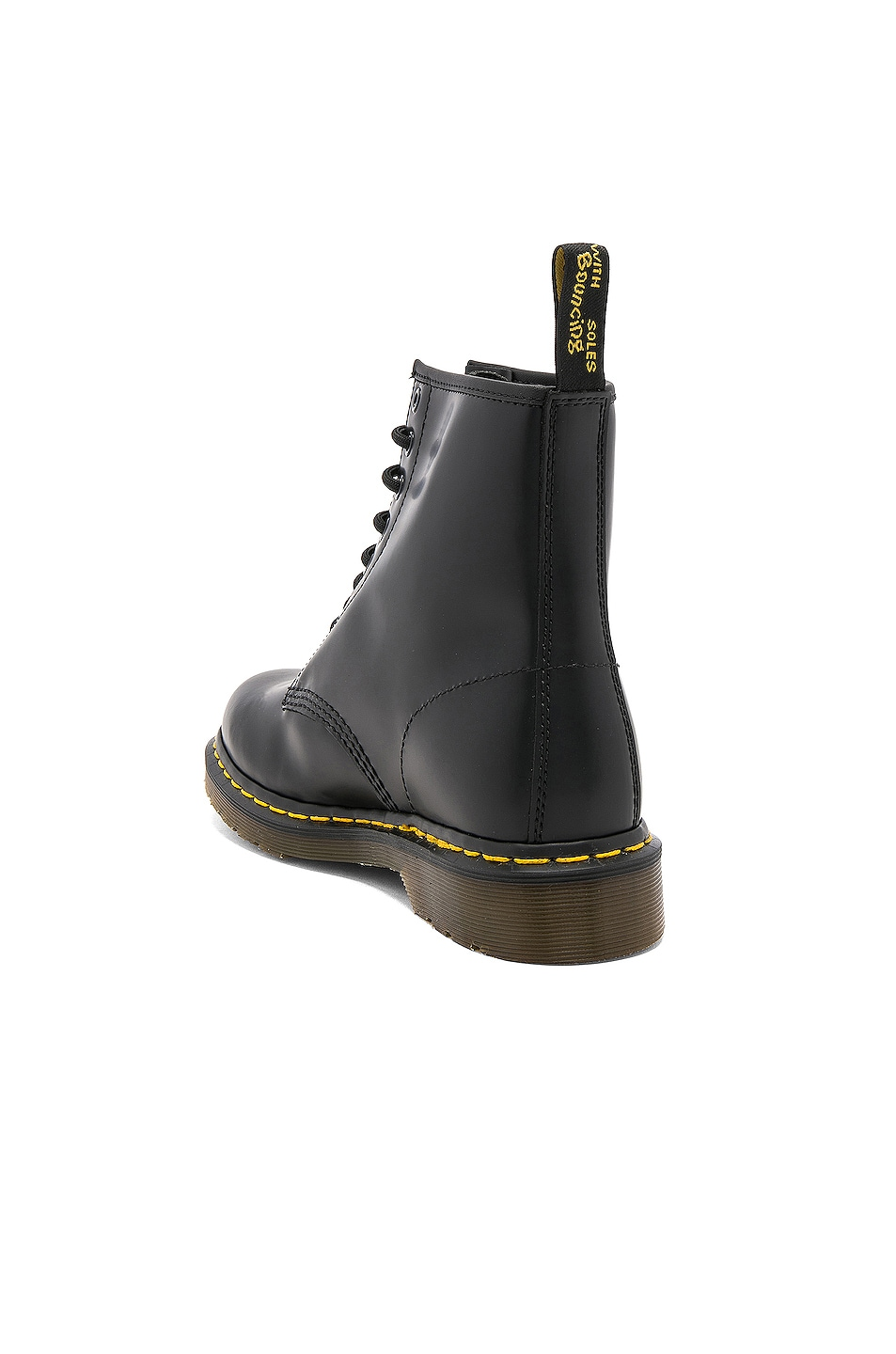 Image 3 of Dr. Martens 1460 8 Eye Leather Boots in Black