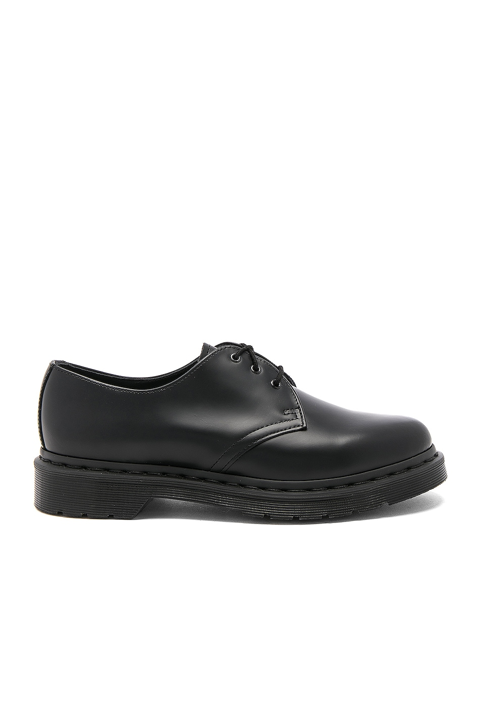 1645cacebc746f Image 1 of Dr. Martens 1461 3 Eye Gibson in Black Mono
